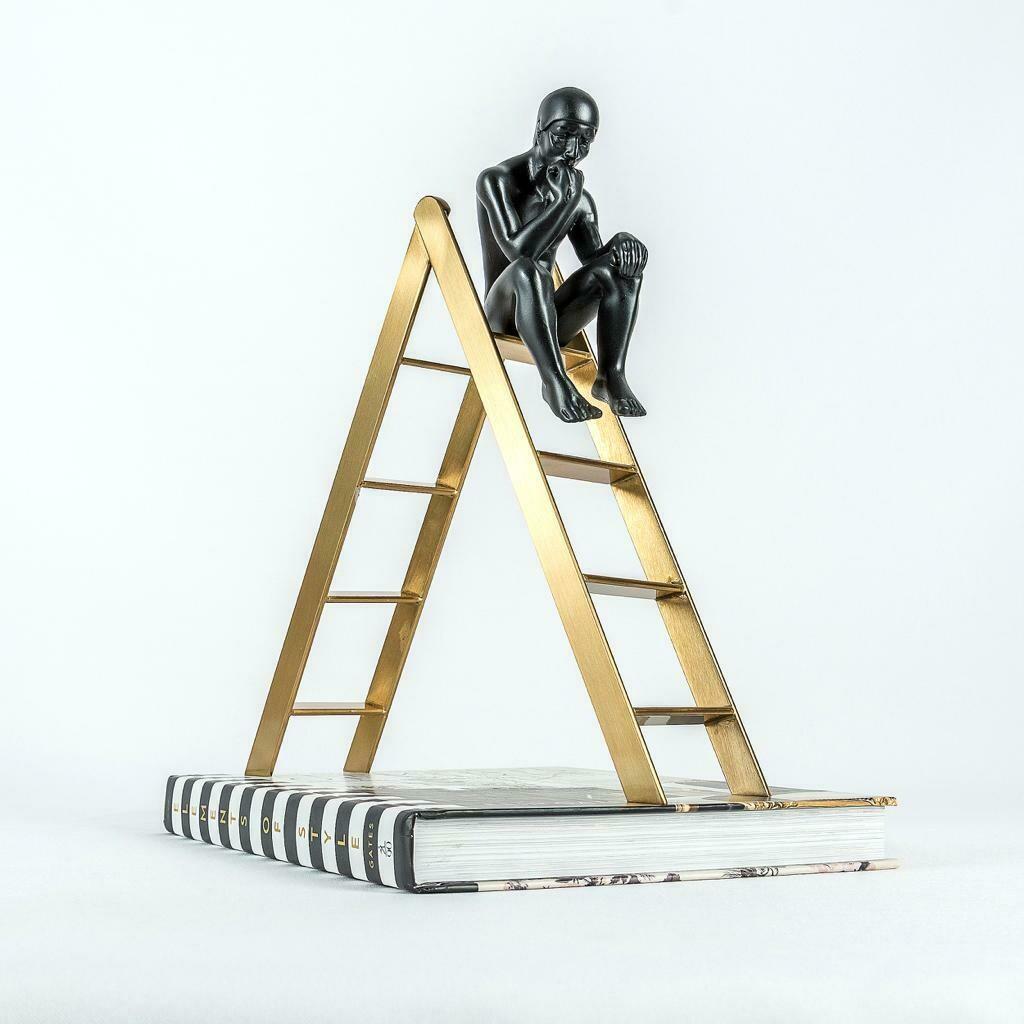 Golden Ladder Sculpture - Cool Deluxe