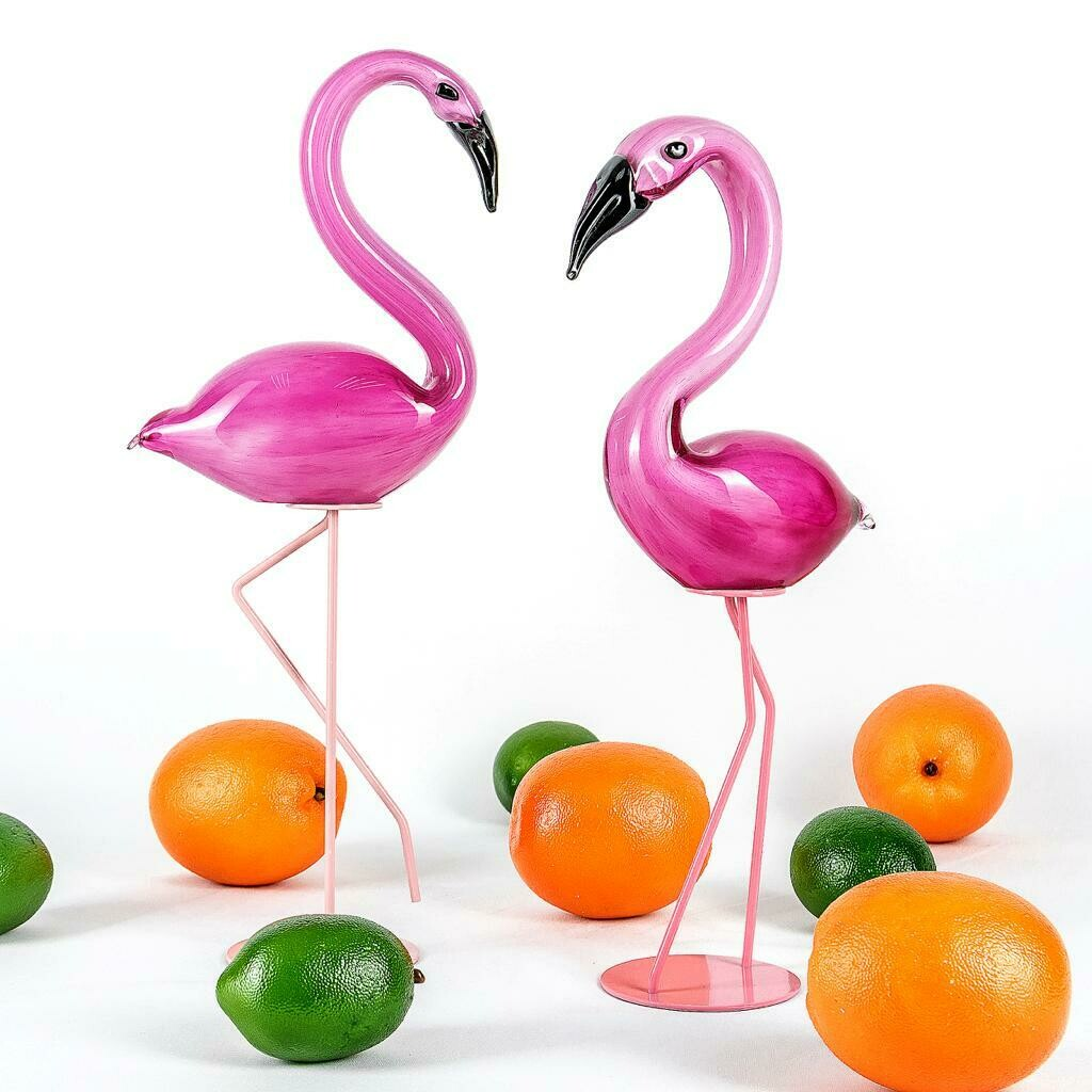 Flamencos Sculpture - Cool Deluxe