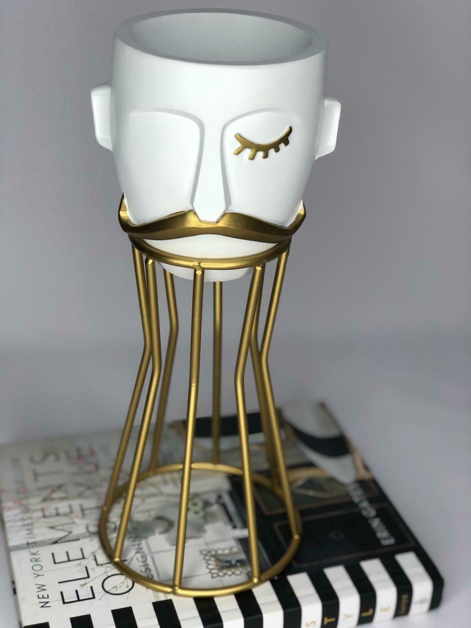 Florero Moustache - Flower Vase