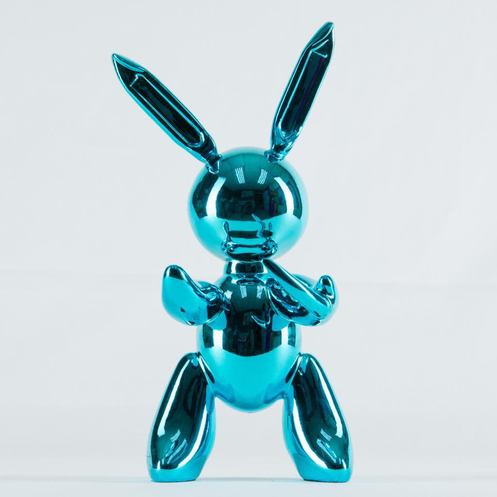 Blue Rabbit Toy Sculpture - Cool Ornaments