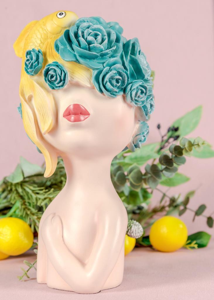 Yellow Fish Sculpture - Cool Ornaments