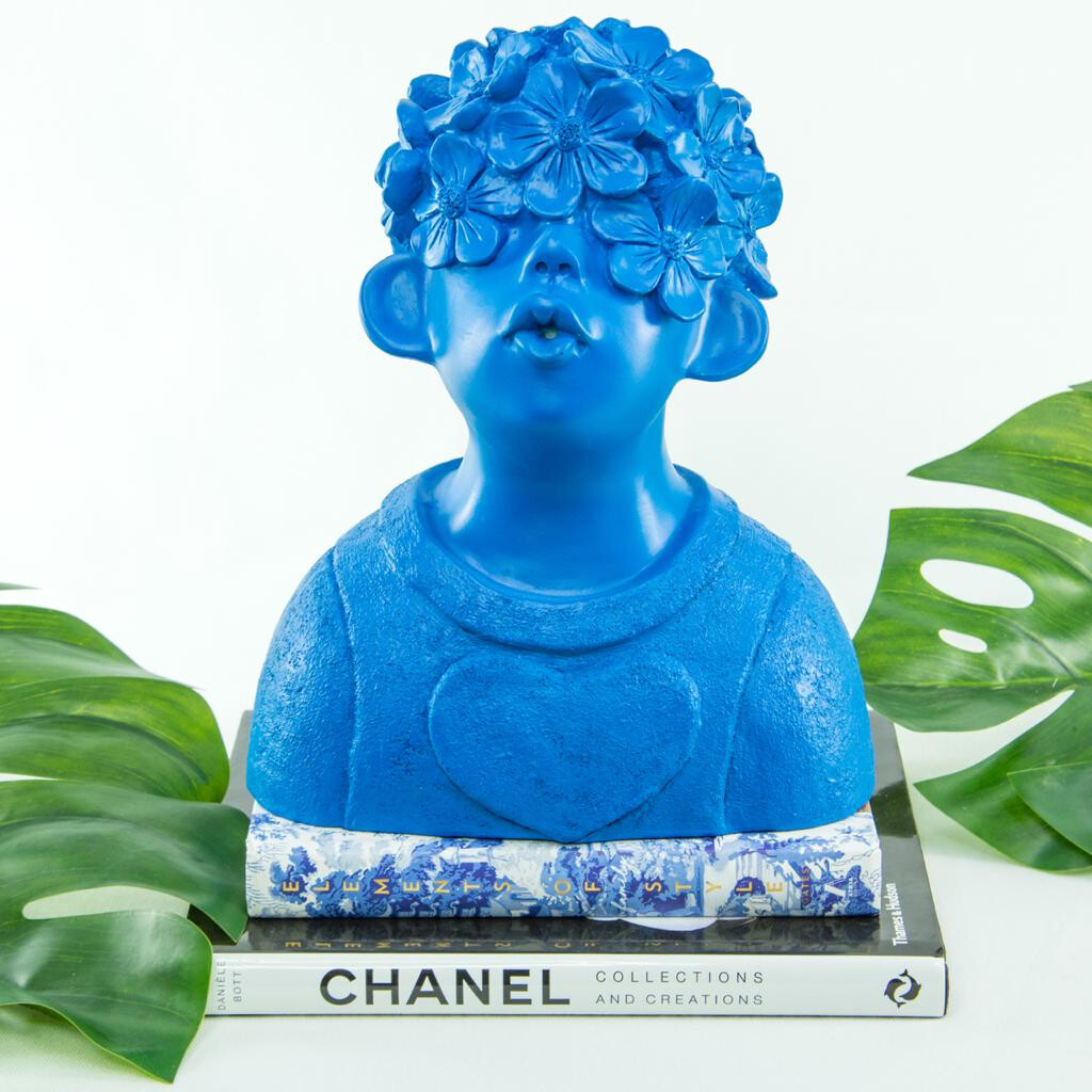 Blue Boy With Heart - Cool Ornaments