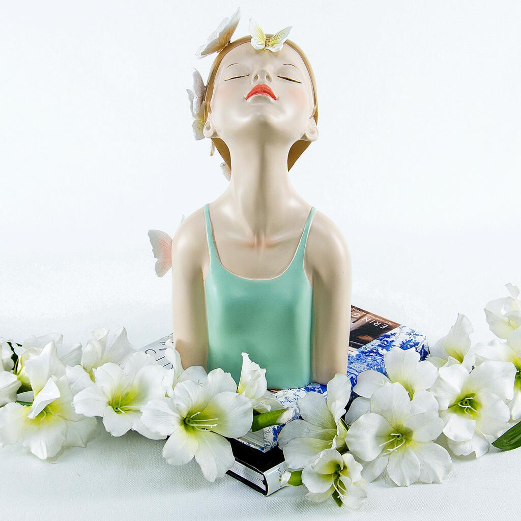 Butterfly Girl Sculpture - Cool Ornaments