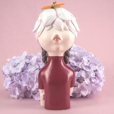 Flower Girl Sculpture - Cool Ornaments