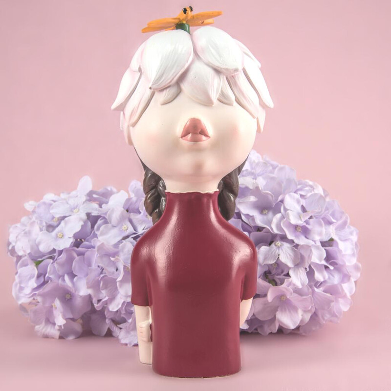 Flower Girl Sculpture - Cool Ornaments