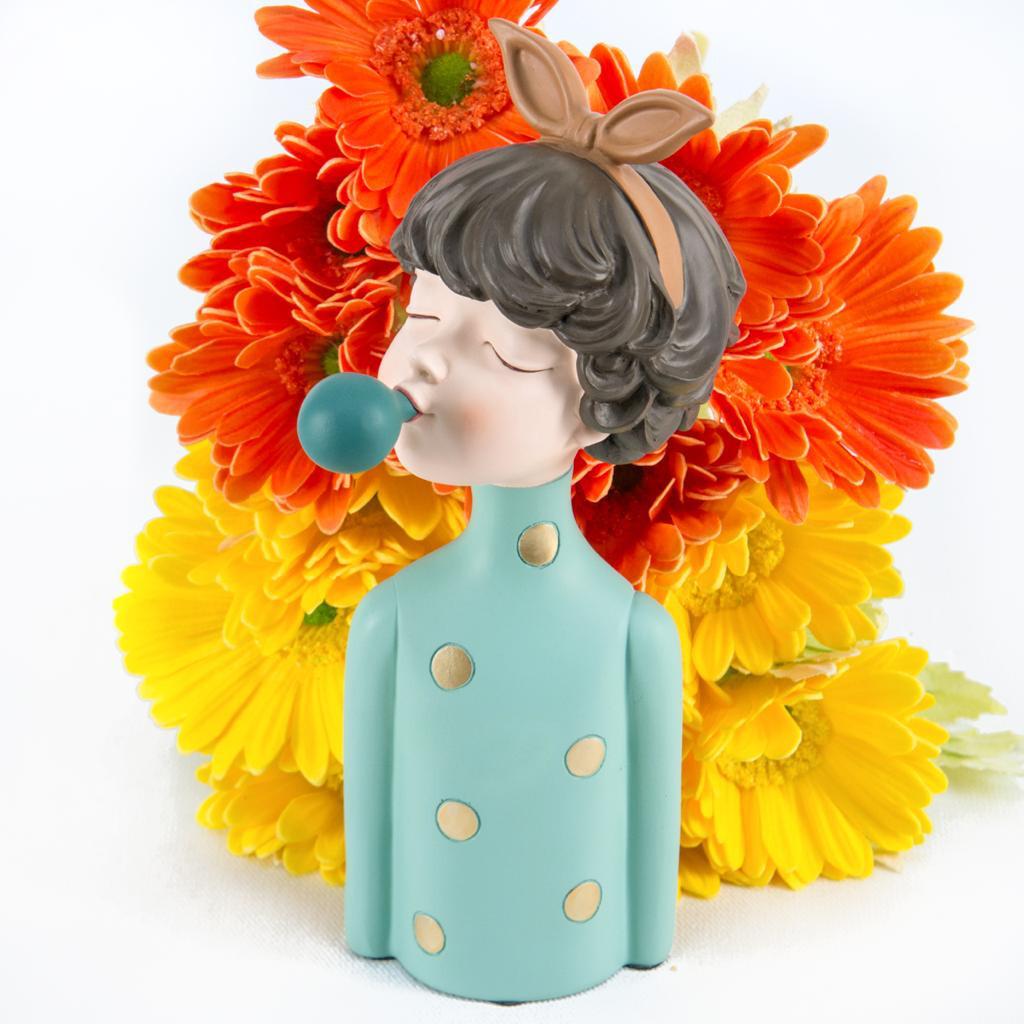 Green Girl Sculpture - Cool Ornaments