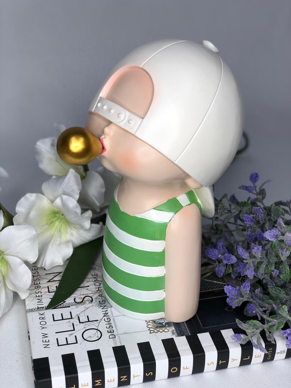 Cool Boy Sculpture - Cool Ornaments