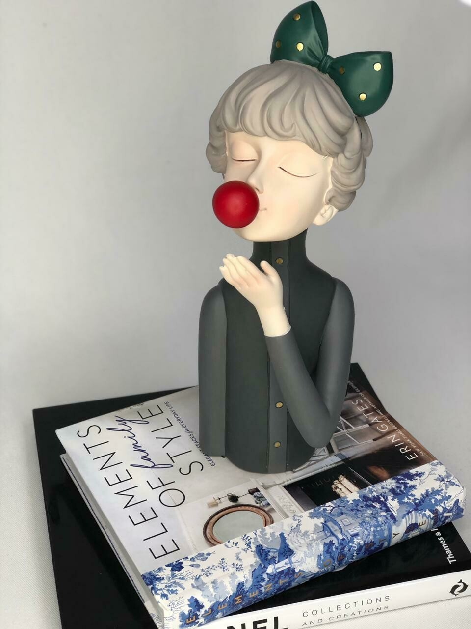 Red Bubble Girl - Cool Ornaments