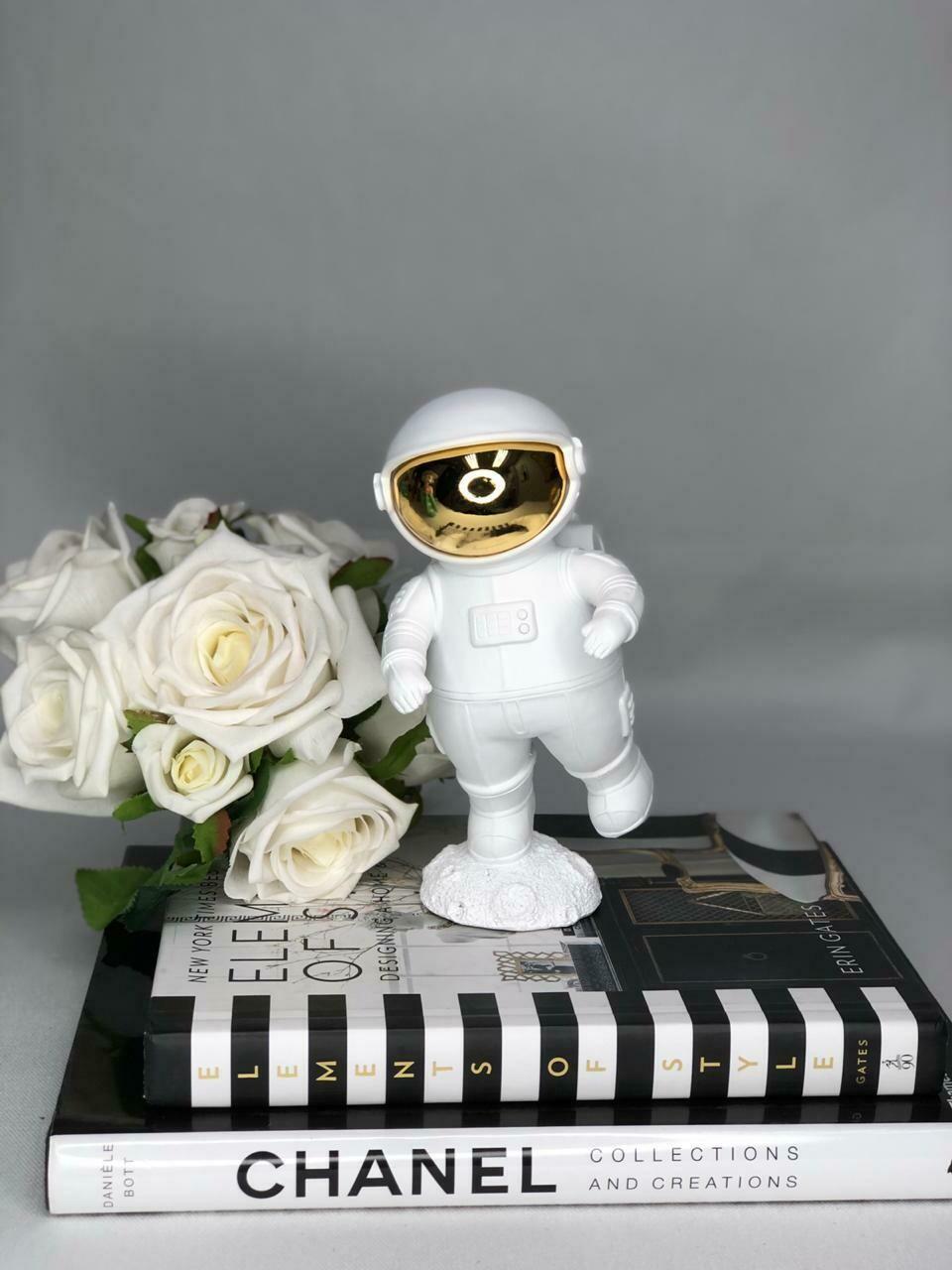 White Astronaut Sculpture - Cool Ornaments