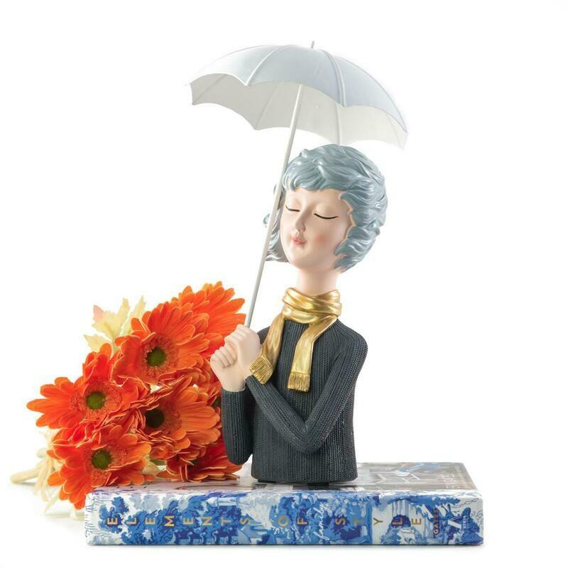 Umbrella Girl Sculpture - Cool Ornaments