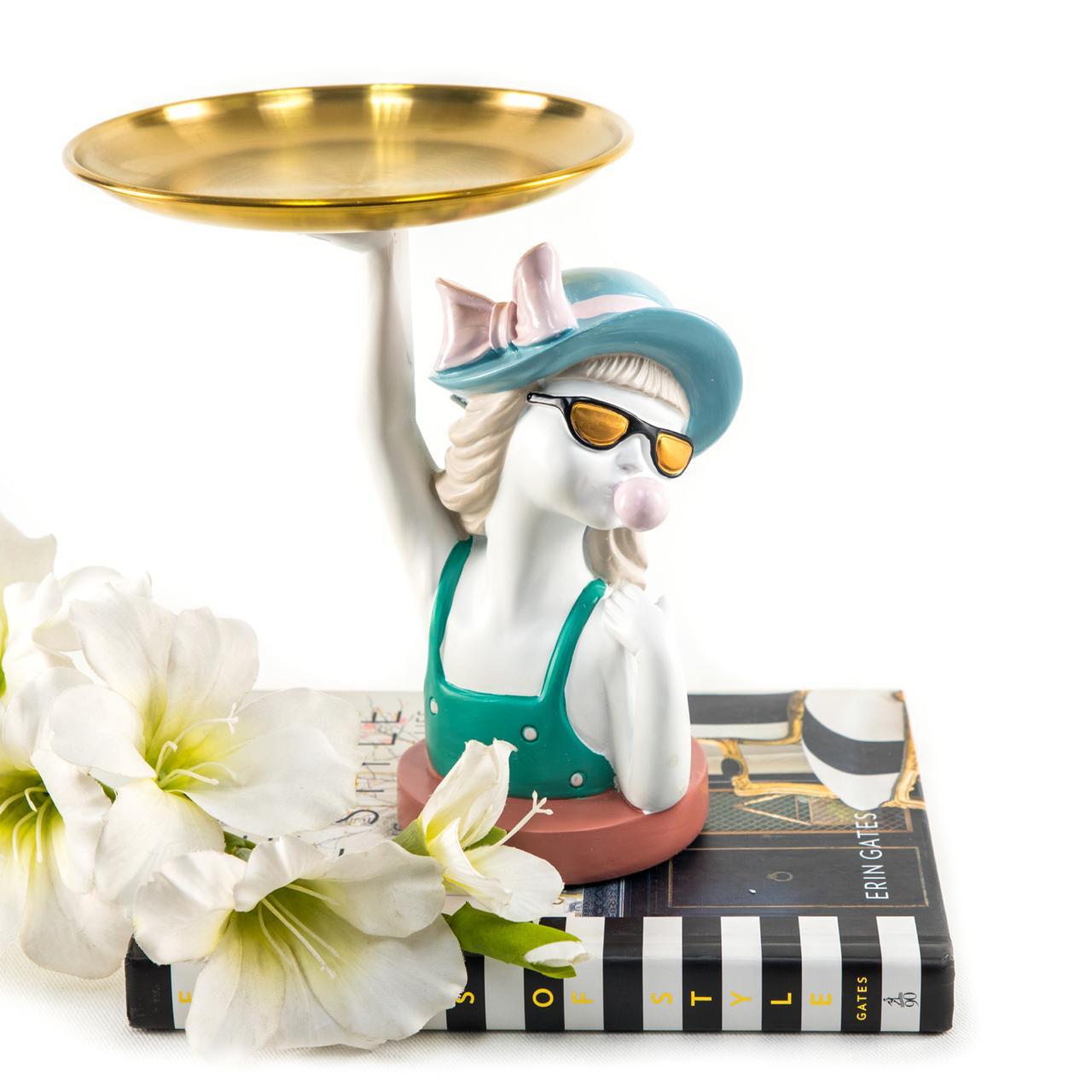 Cool Waitress Sculpture - Cool Ornaments