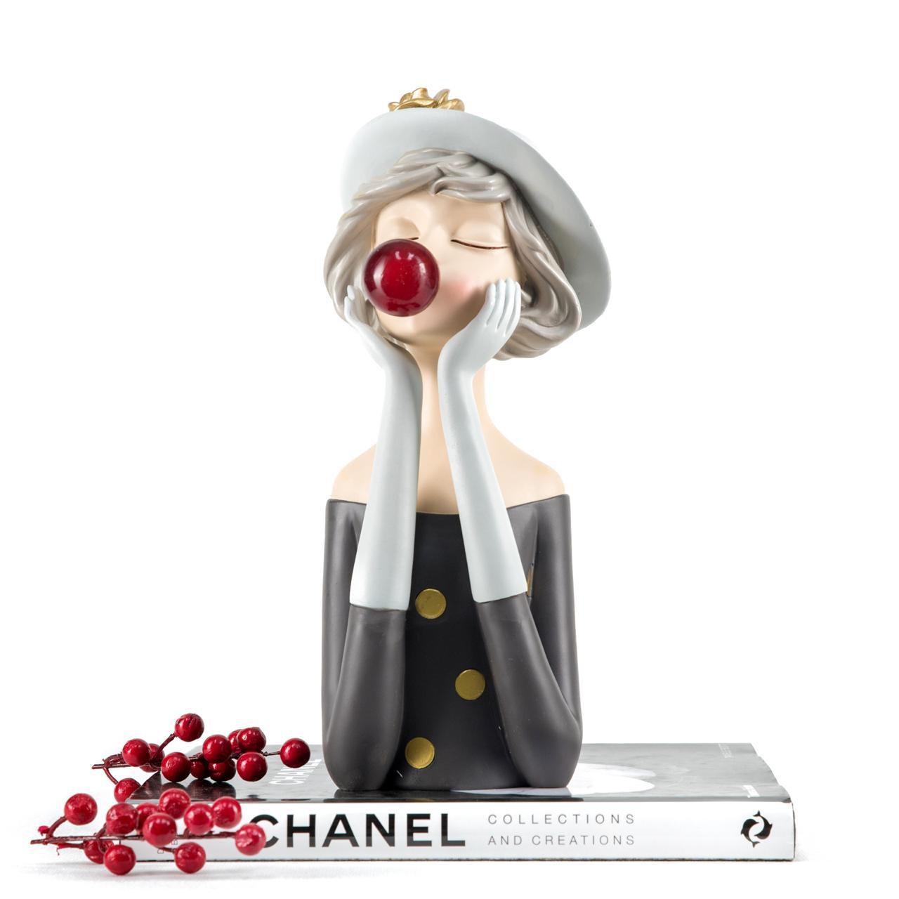 Classy Bubble Girl Sculpture - Cool Ornaments