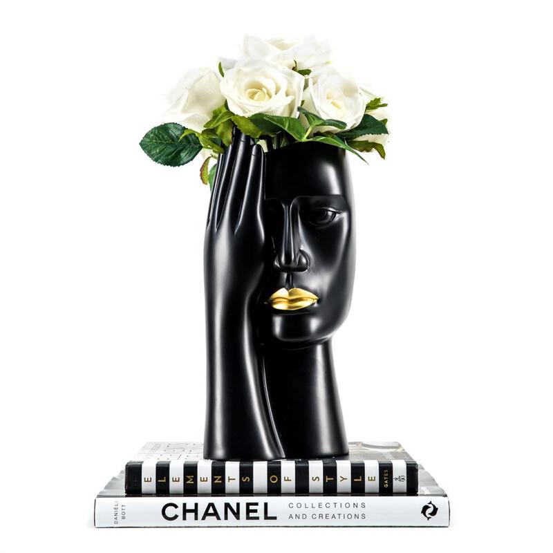 Florero Golden Lips - Flower Vase