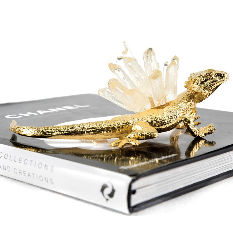 Crystal Reptile Sculpture - Cool Deluxe