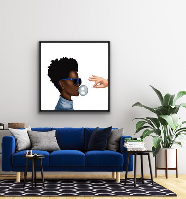 POP STAR Canvas Print - By Barclay