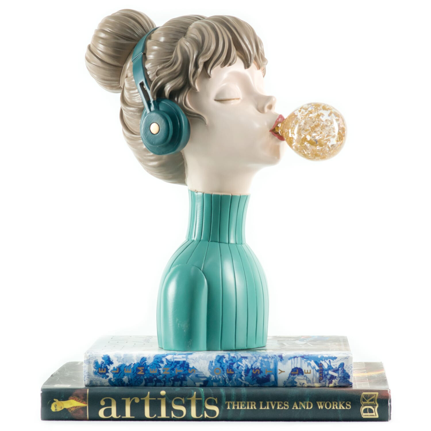 Music Girl Sculpture - Cool Ornaments