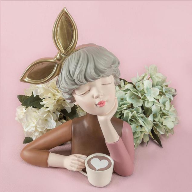 Coffee Girl - Cool Ornaments