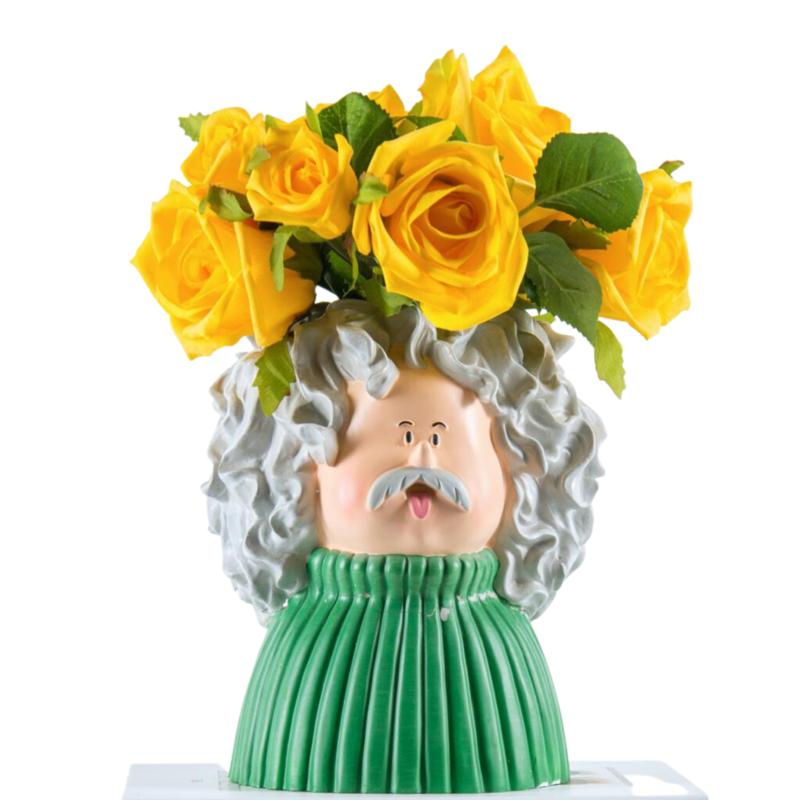 Einstein Flower Vase