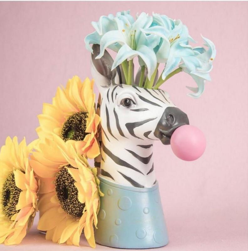 Florero Zebra 🦓 - Flower Vase