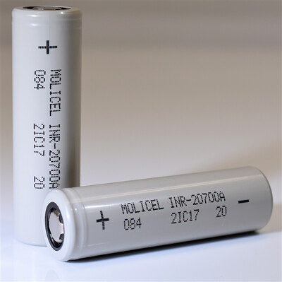 Molicel INR-20700A 3000mAh 35A Battery
