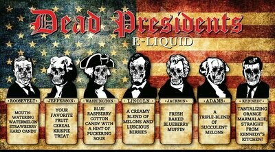Dead Presidents 60 ML Collection