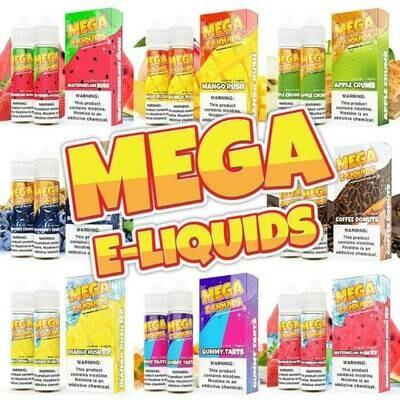 Mega E Liquids 60 ML Collection