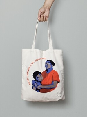 In My Blood it Runs Tote Bag