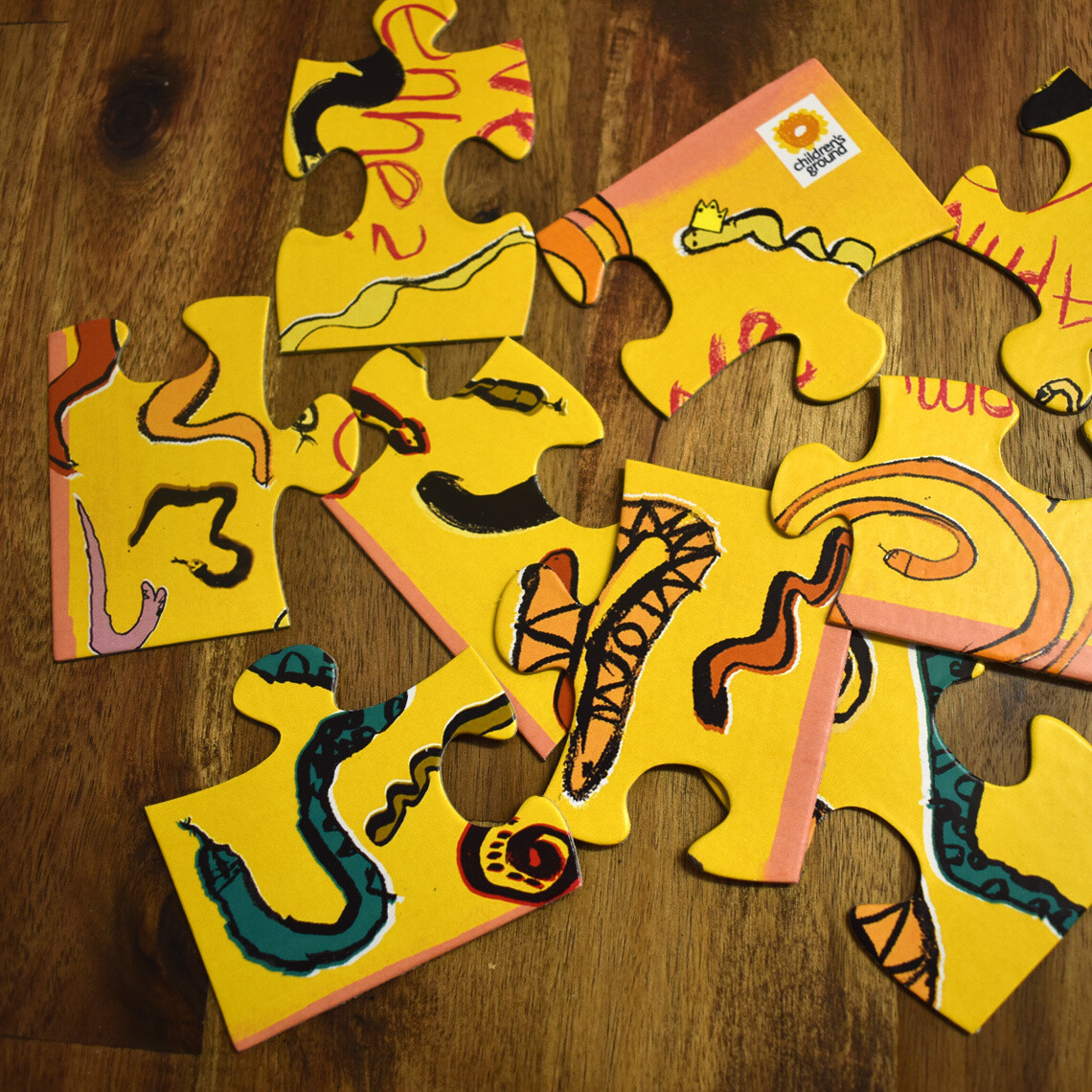 Apmwe Iwenhe? (What Snake?) Jigsaw Puzzle