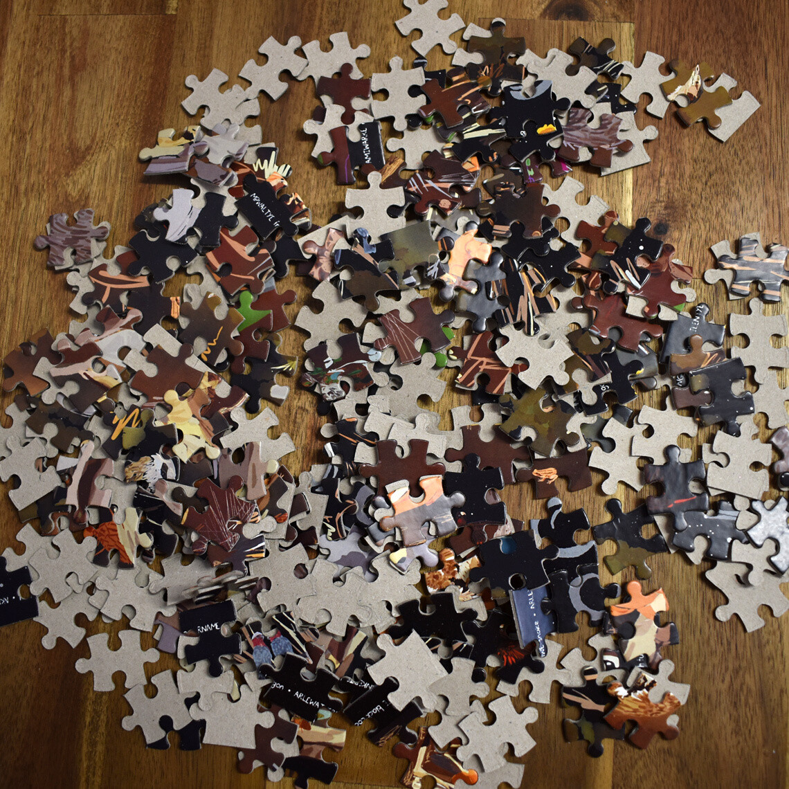 Iwenhe Arratintyeme Ingwele? (What Comes Out At Night?) Jigsaw Puzzle