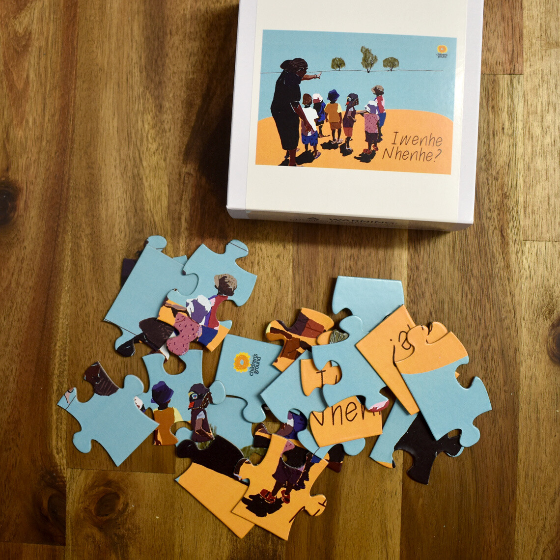 Iwenhe Nhene (What's This?) Jigsaw Puzzle