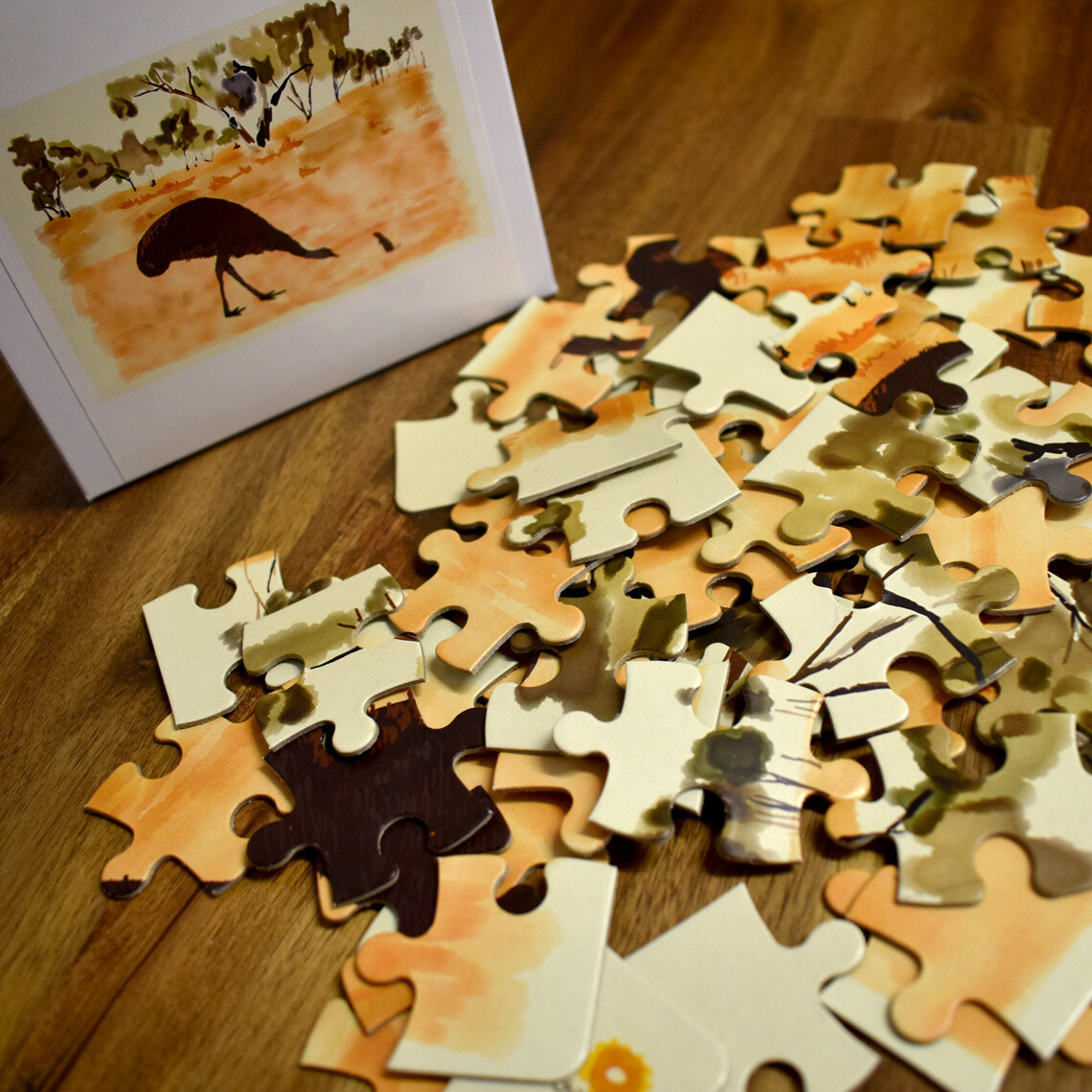 Athakwere Akweke Angkethakwe (The Thirsty Little Mouse) Jigsaw Puzzle