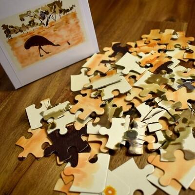 Athakwere Akweke Angkethakwe (The Thirsty Little Mouse) Jigsaw Puzzle