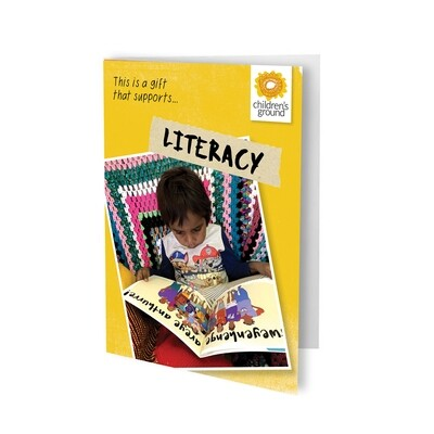 Give The Gift of Literacy