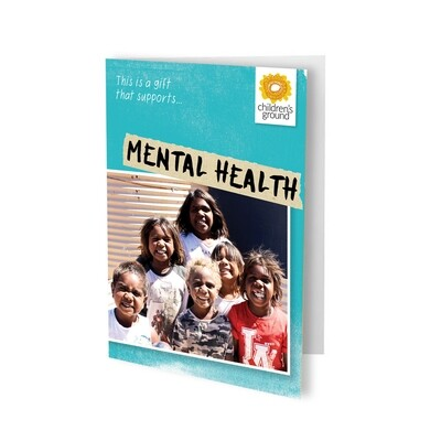 Give The Gift of Mental Health and Wellbeing