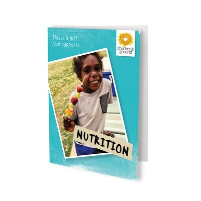 Give The Gift of Nutrition