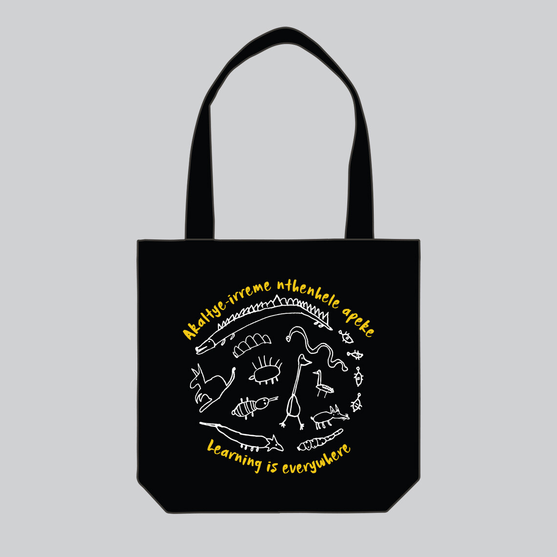 Learning Is Everywhere Tote Bag