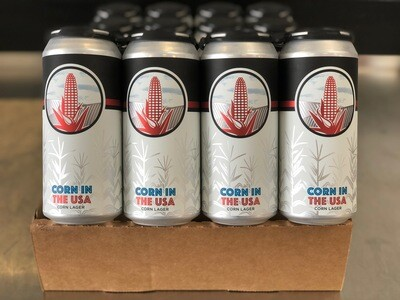Corn in the USA full case (24 x 16oz. cans)
