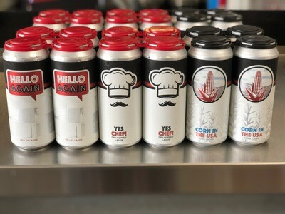 Lager Lover Mixed Case (24 x 16oz. cans)