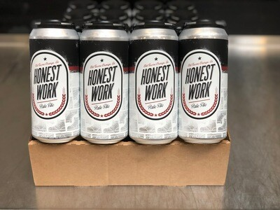 Honest Work full case (24 x 16oz. cans)