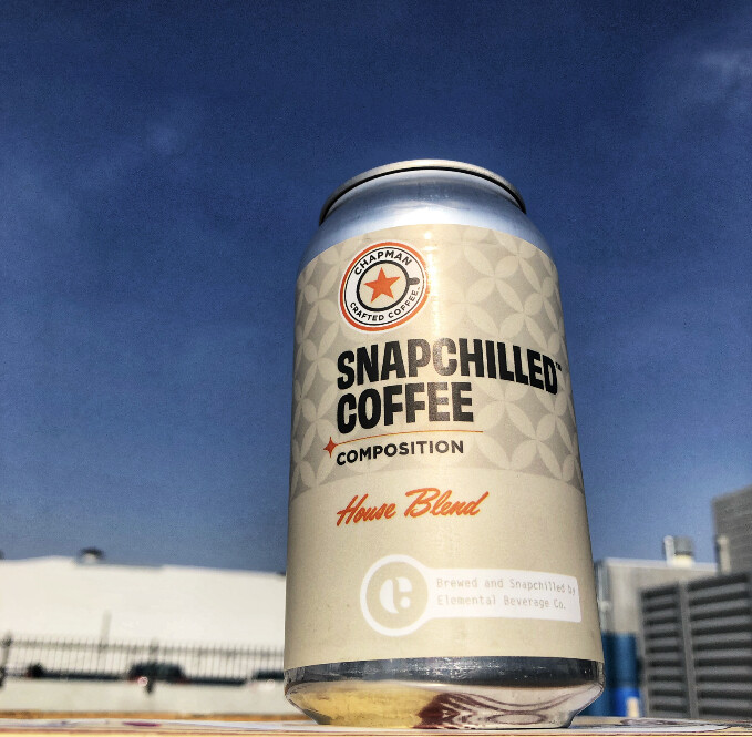 Snap-chilled Coffee (24 12-oz cans)