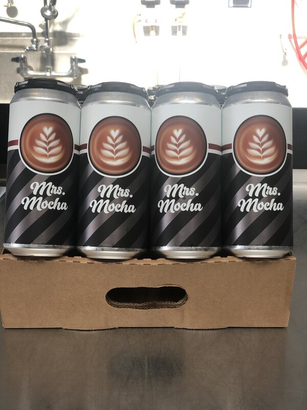 Mrs. Mocha  full case (24 x 16oz. cans)