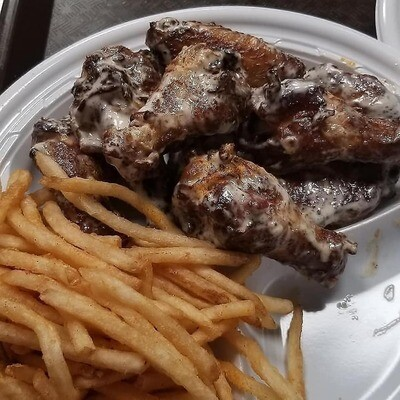 Smoked Wing Plate