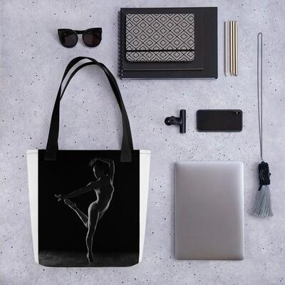Tote bag Dancer Silhouette