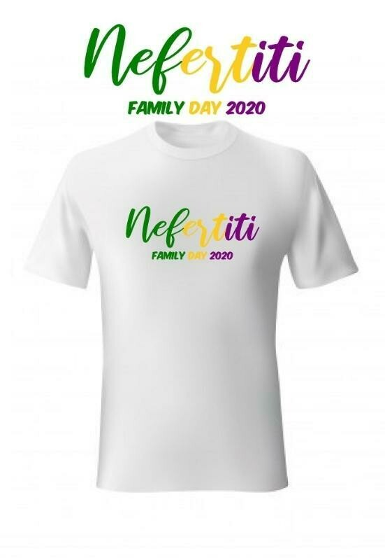 KIDS White Krewe of Nefertiti Family Day 2020 Inaugural Parade T-Shirt