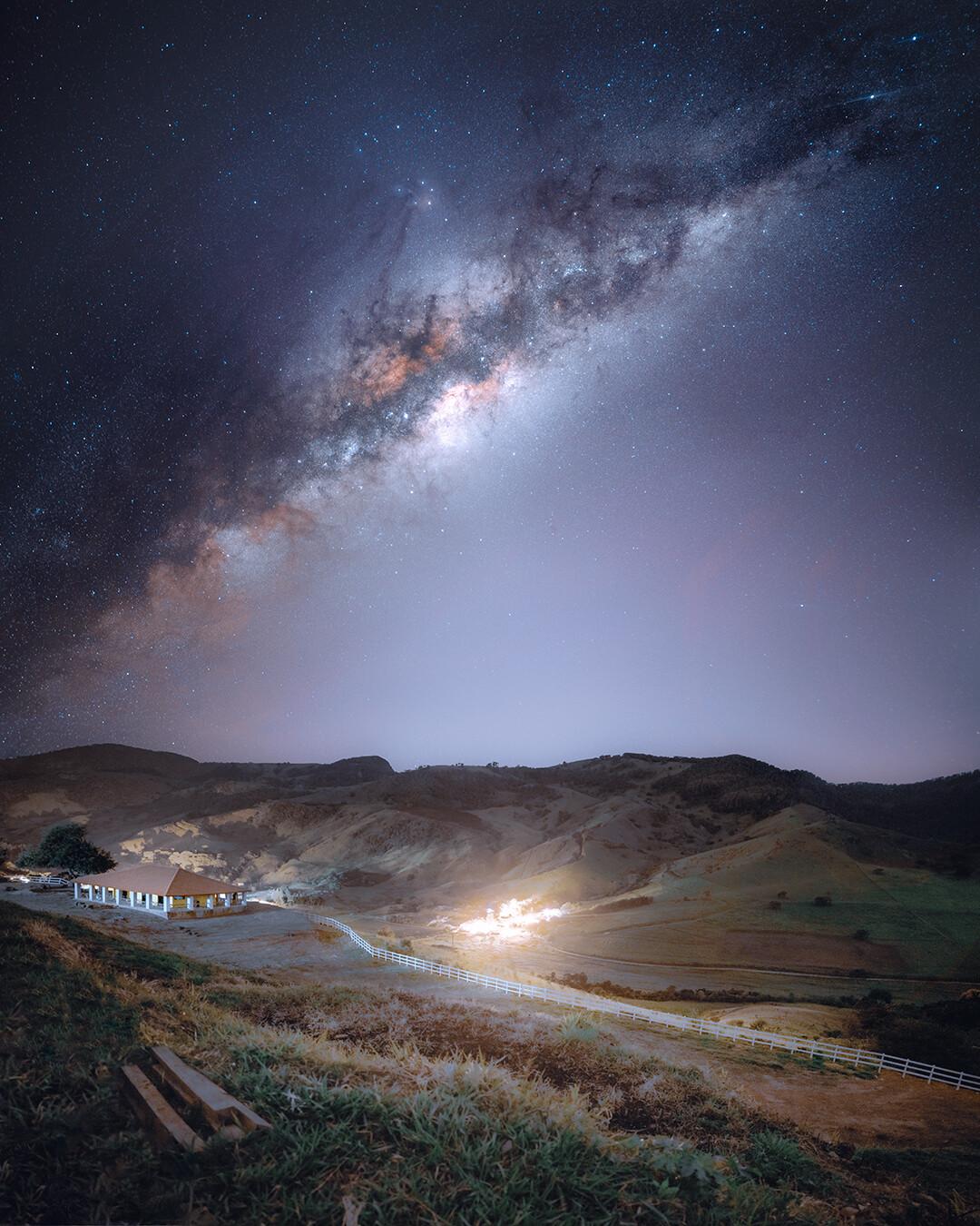 Nascer da Via Láctea