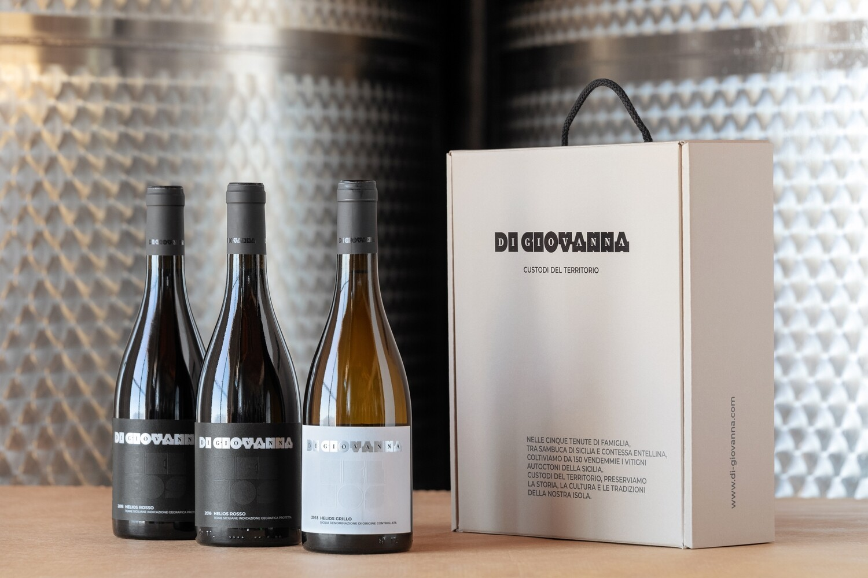 HELIOS Flagship Wine - 3 Bottle Gift Box