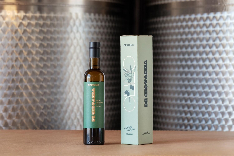 Gerbino Olio di Oliva - 500 ml e confezione regalo