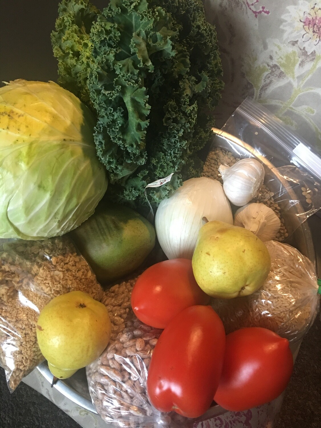 The loyal Vegan stimulus grocery  pack