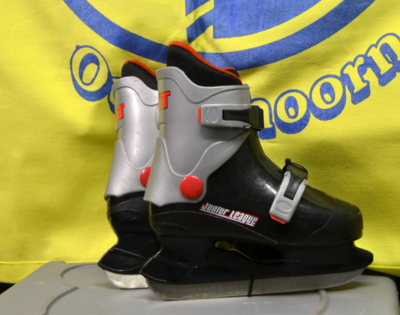 Verstelbaar Maat 30 t/m 33 Hockey Heren - Zwart/Grijs