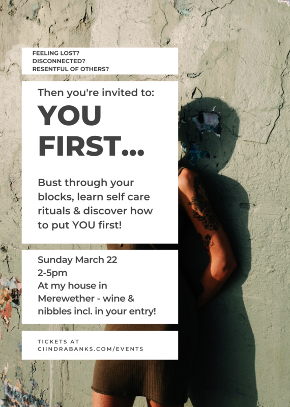 YOU FIRST - Practical Self Care Workshop